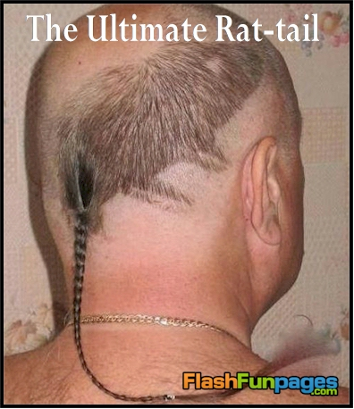 funny rat tail picture
