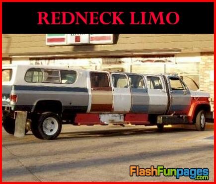 redneck limousine
