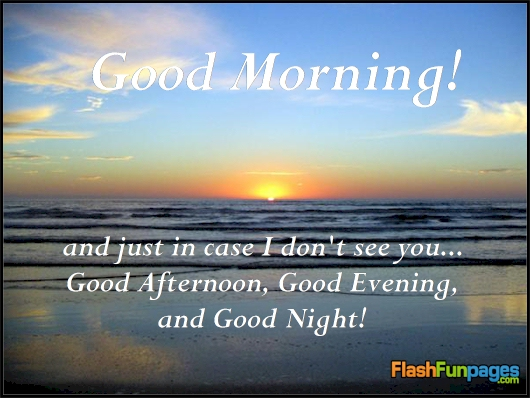 Good Morning And Goodnight In French : Good morning and everything ecards for facebook