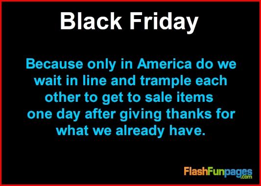 Black Friday | Ecards for Facebook