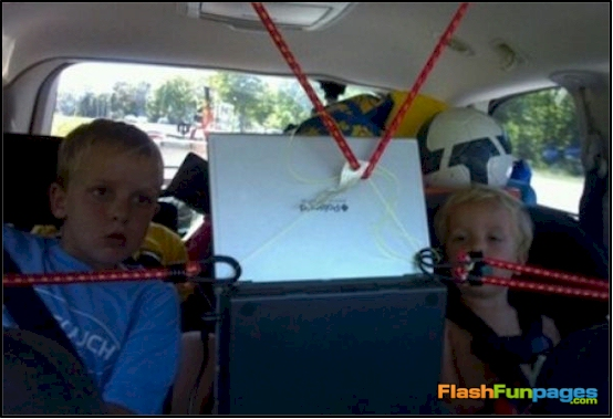 redneck auto dvd player
