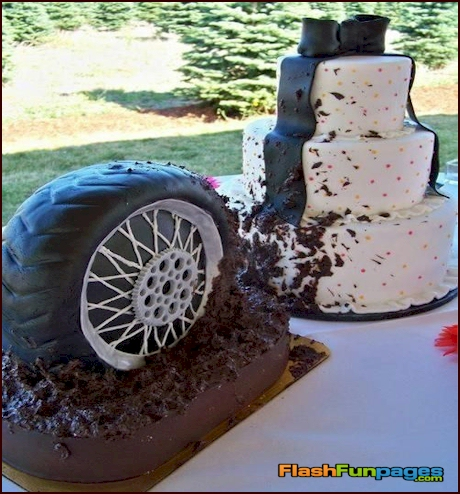 redneck wedding cakes