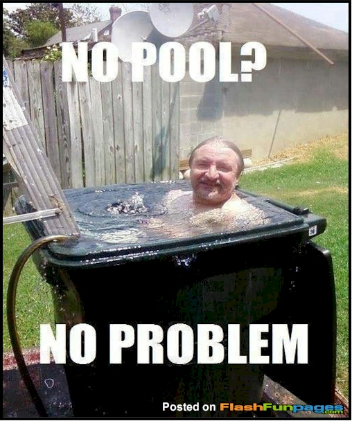 no pool no problem