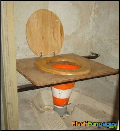 ultimate redneck toilet