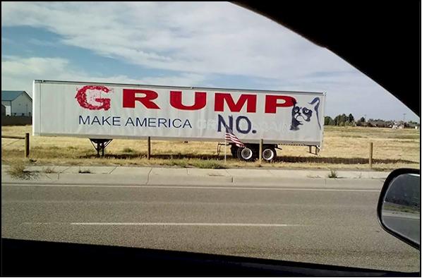 funny Trump sign